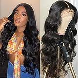 FLYBAO Lace Front Wigs Human Hair Body Wave Wigs Brazilian Virgin Human Hair Wigs for Black Women 150% Density 13x4 Lace Frontal Wigs Pre plucked