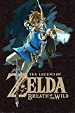 Grupo Erik Editores Poster Zelda Breath Of The Wild Game Cover