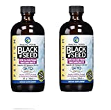Amazing Herbs Black Seed Cold-Pressed Oil 8oz. (Pack of 2)