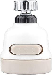 GardenHelper 2 Pcs Kitchen Extended Extender Faucet Sprinkler Shower Splash Faucet Economizer Filter Mouth-Suitable for Most Faucets