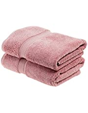 Superior 900 GSM Luxury Bathroom Towels, Made of 100% Premium Long-Staple Combed Cotton, Set of 2 Hotel & Spa Quality Bath Towels