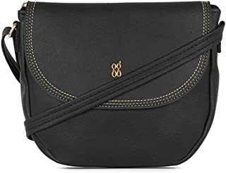 Baggit Women's Saddle Handbag (Black)
