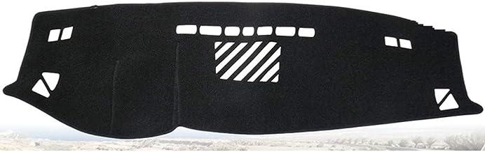 CYBHR Accesorios para el Coche de la Almohadilla de la Cubierta del Tablero de Instrumentos, para BMW Serie 5 520i 525i 530i 535i E60 2004 2005 2006 2007 2008 2009