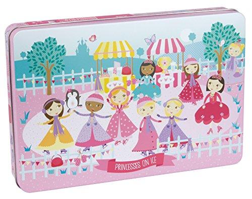 APLI Kids - Princesas Sobre Hielo Puzle, 24 Piezas, Multicolor, 16490 (Juguete)