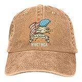 QAnonアメリカ国旗イーグルQアノンWWG1WGA男性女性クラシックコットンデニム野球帽調節可能なお父さん帽子