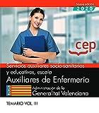 Auxiliares De Enfermeria Valencia. Temario 3