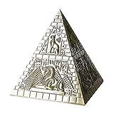 ADSE Joyero, Pirámide Europea Set Joyero Estilo Egipcio Artesanía decoración de Metal