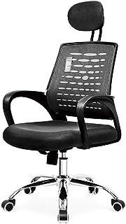 Ergonomiczne krzesło biurowe krzesło biurowe, krzesło komputerowe z inteligentną podnoszącą się zagłówek, zakrzywione oparcie