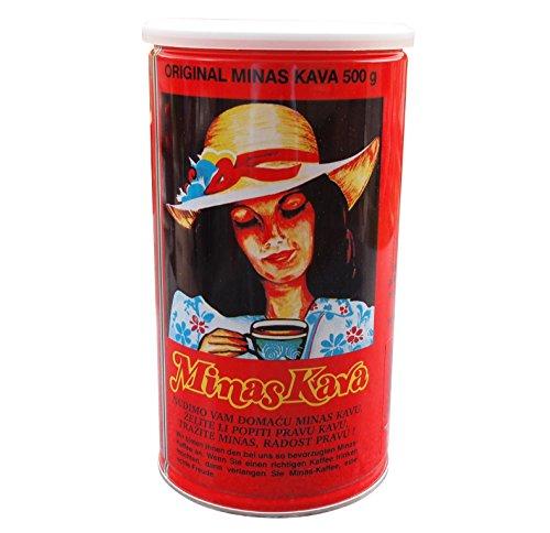 Minas Kava - Staubfeiner Mokka Kaffee (500g)