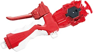 Takaratomy Beyblade B-123 Long Bey Launcher Set Cho-Z Layer System - Right Spin, Brown