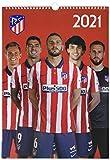 Grupo Erik Official Atletico Madrid 2021 Calendar - A3 Wall Format Calendar