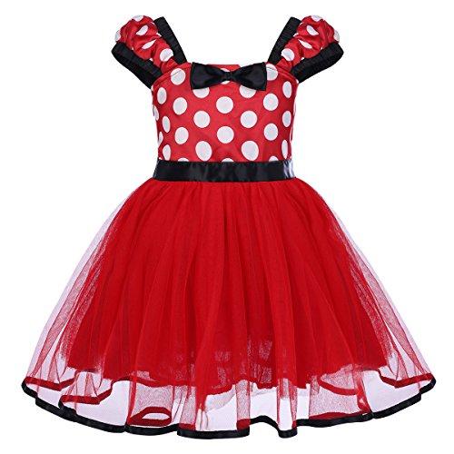 Bambini con Lustrini Minnie Topolino Cerchietto Orecchie Con Fiocco Fantasia Party Dress Up Accessorio
