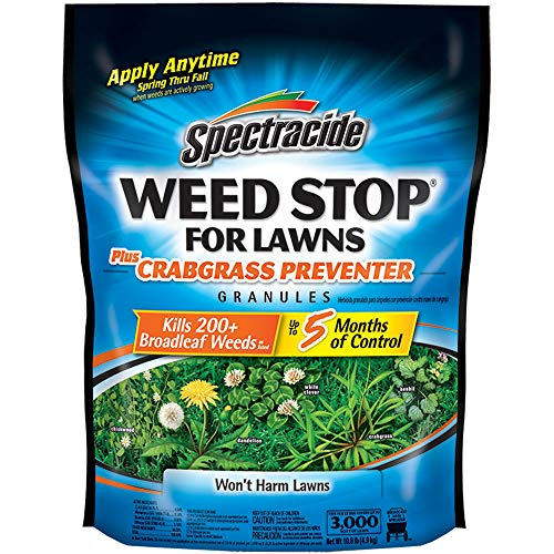 Spectracide Weed Stop For Lawns Plus Crabgrass...