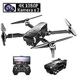 Droni Professionali Con Telecamera 4K, Drone GPS FPV 1080P, 120 ° Grandangolo...