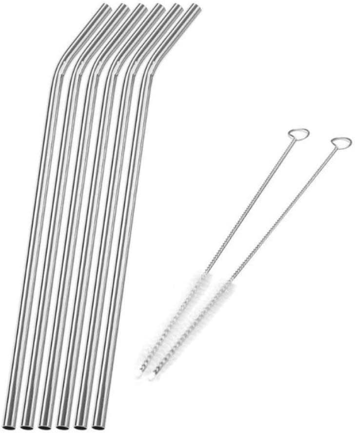 Great interest Momyeah Stainless steel straw Reusable Straw Pipette Metal Charlotte Mall Sucti