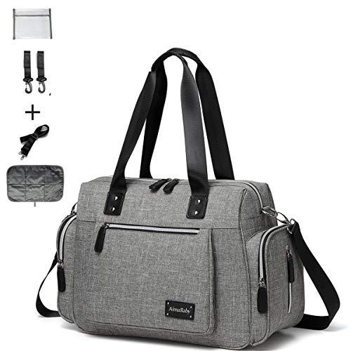 Diaper Tote Bag Diaper Bag,Travel Carry bag, Baby Nappy Diaper Bag for...