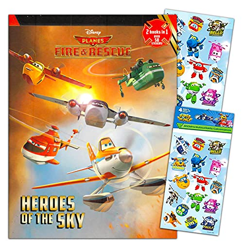 Disney Planes Coloring and Activity Book Set for Kids Toddlers Party Favors Bundle ~ 224 Page Disney Planes Coloring Book with Over 100 Stickers (Planes Party Supplies)