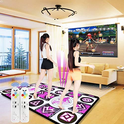 YIZHIYA Tanzmatten,30 mm dickeres Wireless Double Dance Mat Games Pad,rutschfeste...