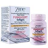 FunguCept Softgels。迅速な結果のための菌停止ネイルソリューションと相補的なソリューションを提供します. 100% ナチュラル・ 108 mg のカルバクロール・早くて高い効果・60 カプセル・ザネ・ヘラス