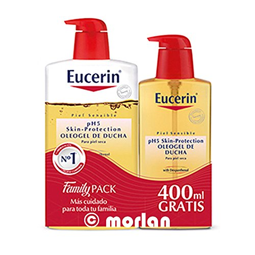 EUCERIN OLEOGEL DE DUCHA 1L+ECOPACK 400 ML