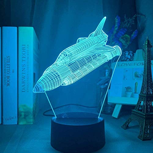 Tatapai 3D Illusion Lamp Led Night Light Space Child Color Changing Space for Kids Room Decoration Space Crafts Children s Sleep Lamp Children Room Decoration