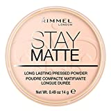 Rimmel Stay Matte Poudre Compacte Pink Blossom 002