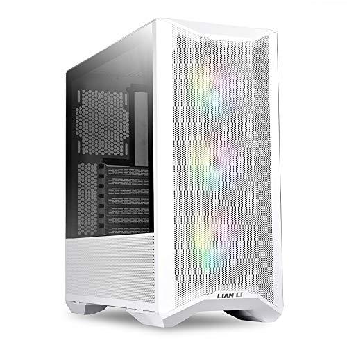 Lian Li LANCOOL II MESH RGB White LAN2MRW Tempered Glass ATX Case -White Color -LANCOOL II MESH RGB White - LAN2MRW