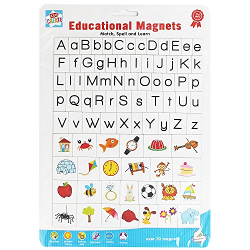 Kids Create Magnetic Educational Letters