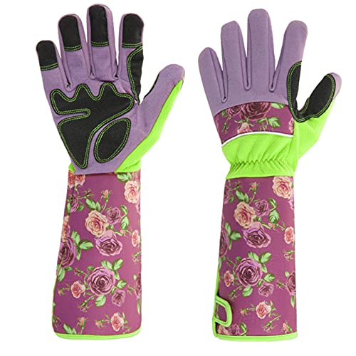 Garden Gloves Planting Work labor Protection Gloves,Sunscreen,Breathable, One Size Fit Most...