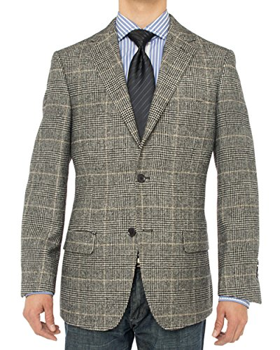 Luciano Natazzi Men's 2 Button Luxe Camel Hair Suit