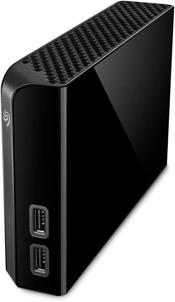 Seagate Backup Plus Hub 14TB External Hard Drive Desktop HDD USB 3.0, 2 USB Ports for Computer Desktop Workstation PC Laptop Mac, 4 Months Adobe Creative Cloud Photography Plan, Black