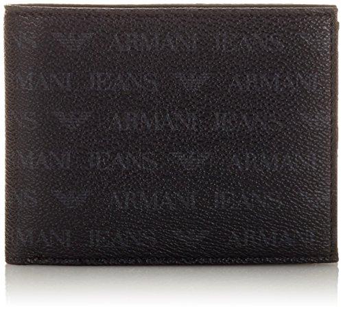 ARMANI JEANS 938544CC996, Portafogli Uomo Nero Schwarz (Nero 00020) 10x2x13 cm (B x H x T)