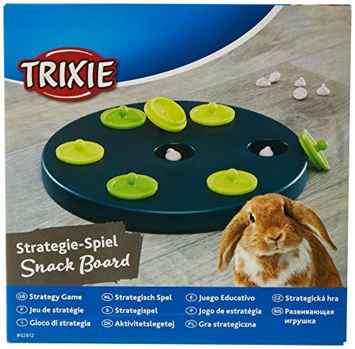 Trixie 62812 Kaninchen-Spiel Snack Board, Kunststoff, 20 cm - 2