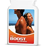 MyTan Boost Sun Tan Pills   Tanning Booster Vitamins   100 Capsules   All Natural Tanning Pills