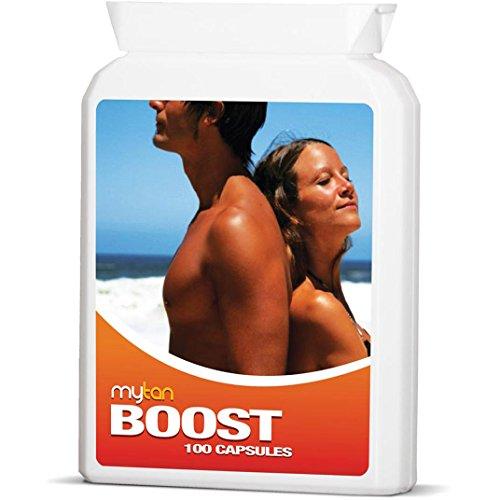 MyTan Boost Sun Tan Pills | Tanning Booster...