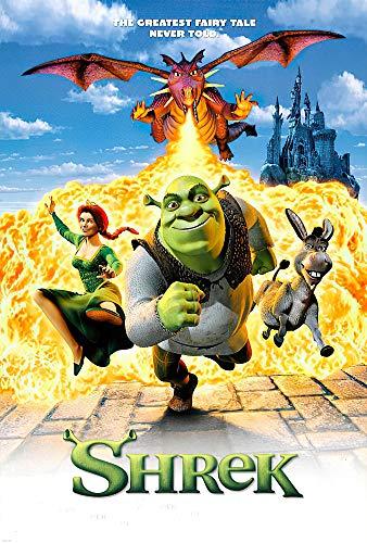 "POSTER STOP ONLINE Shrek - Movie Poster Regular (Size 27"" x 40"")"
