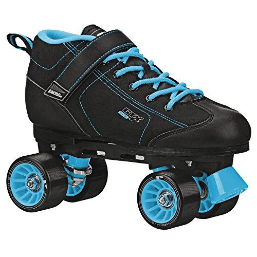 Pacer GTX-500 Black and Teal Roller Skates (Mens 6/Ladies 7)