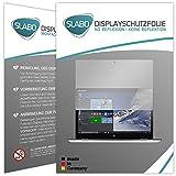 Slabo 2 x Bildschirmschutzfolie für Lenovo Yoga 700 (14
