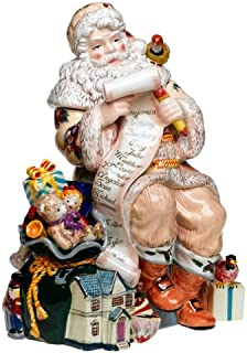 Waterford Holiday Heirlooms 15-Inch Georgian Santa Cookie Jar
