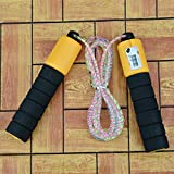 AVMART Multi Countable Skip Meter Green Unisex Fitness Jumping Rope for Gym Training, Exercise, Workout, Weight Loss