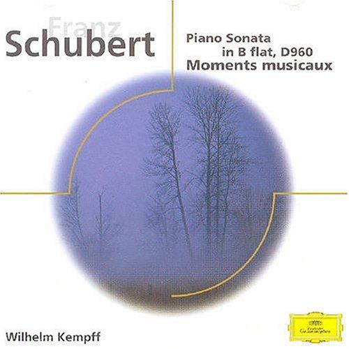 SCHUBERT/PNO SON D960;MOM MUS/KEMPFF  GE