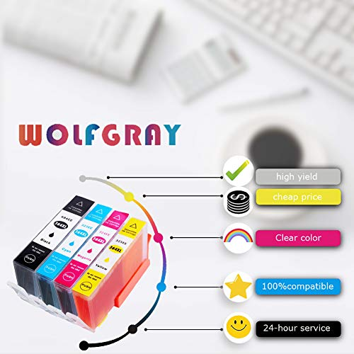Wolfgray 364XL Compatibles para HP 364 XL 364 Cartuchos de tinta ...