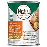 NUTRO Premium LOAF Adult Wet Dog Food Chicken, Potato, Carrot & Pea Recipe 12x12.5oz