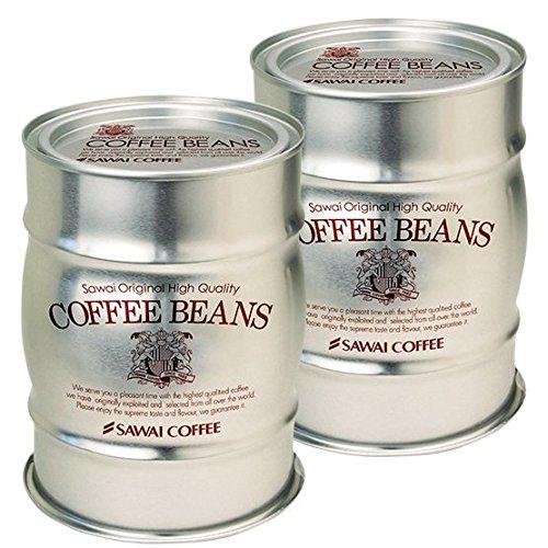 澤井珈琲 コーヒー専門店 銀の樽缶と氷温甘熟珈琲ドリップバッグ コーヒー ギフト セット