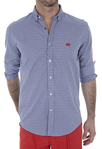 Altonadock PV18275020636 Camisa Casual, Azul (Vichi), Medium (Tamaño del Fabricante:M) para Hombre