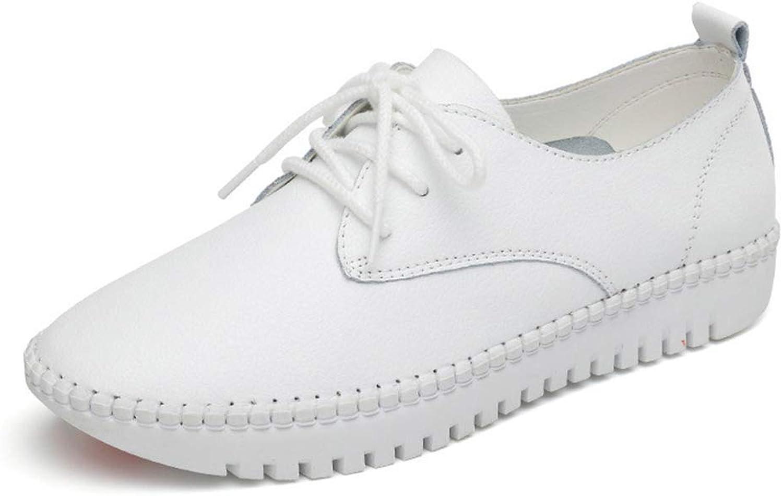 Bokun Bokun Bokun kvinnor Flats Solid Lace -Up Casual skor kvinnor Pu läder Platform skor  nya exklusiva high-end