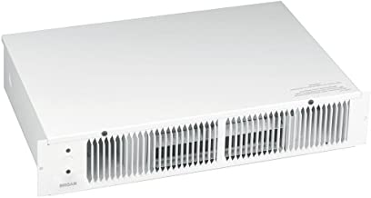 Broan 114 Kickspace Fan-Forced Wall Heater Without Built-in Thermostat, White