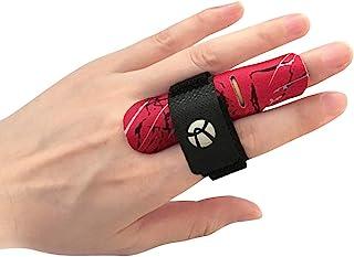 Kuangmi Ochraniacz na rękaw na palec zapobiega urazom palców podczas uprawiania sportu 1 sztuka (czerwony, L/XL)