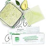 Silicona de grado alimenticio reutilizable 3en1 Eco Stretch Película adhesiva alternativa ecológica duradera papel de aluminio y papel para hornear
