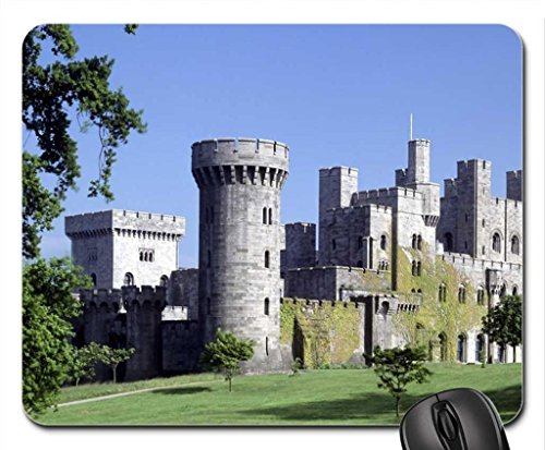 Penrhyn Castle Gwynedd Wales Mouse Pad, Mousepad (Amusement Parks Mouse Pad)